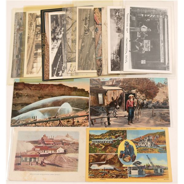 Oil and Mining Postcards  [135467]