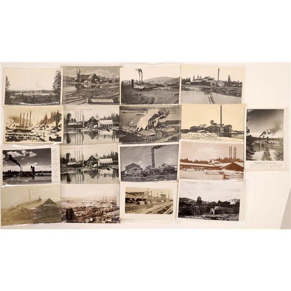 Lumber Mill Postcards (17)  [132357]