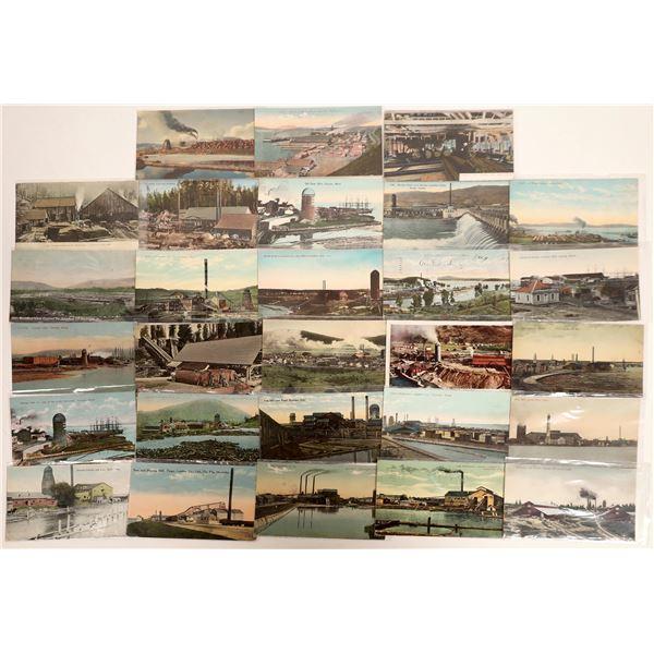 Lumber Mill Postcards (28)  [132354]