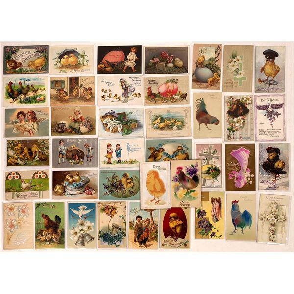 Easter Postcard Collection - No Bunnies  [126601]