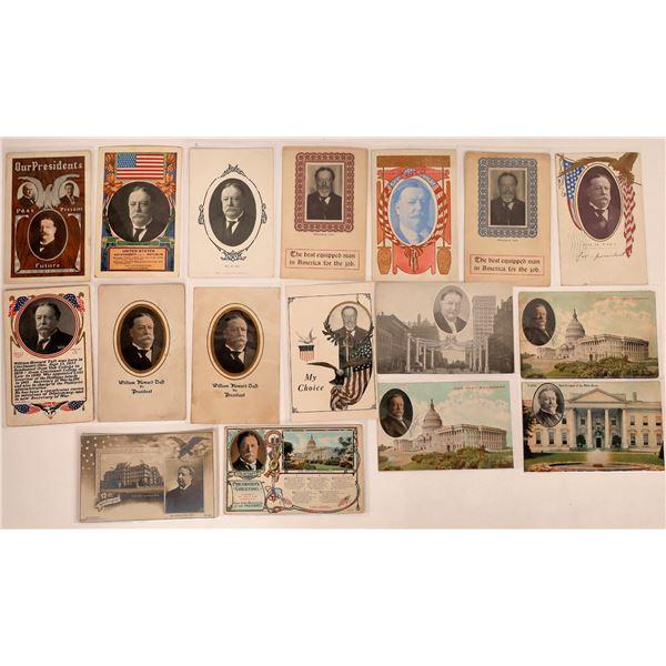 Taft for President RPCs and Litho Postcards (17)  [127328]