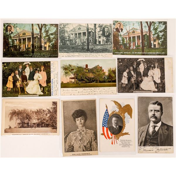 Teddy Roosevelt Postcard Collection (10)  [135526]