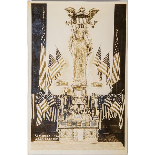 RPC of Lady Liberty reproduced by J. Mallamace of San Jose, California  [132953]