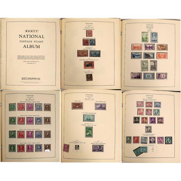 Large collection Scott National Postal Album 1977  [131598]