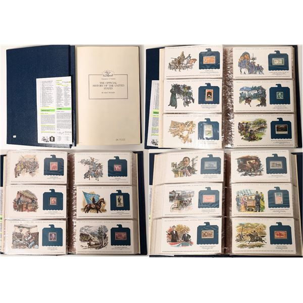 """Postmasters of America """"Official History of the United States In Mint Stamps""""  [132352]"""