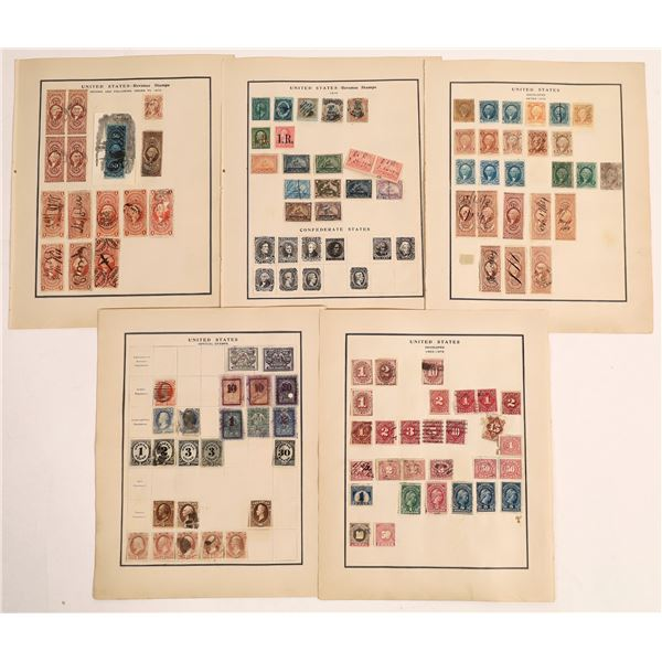 US Revenue Stamp Collection  [131599]