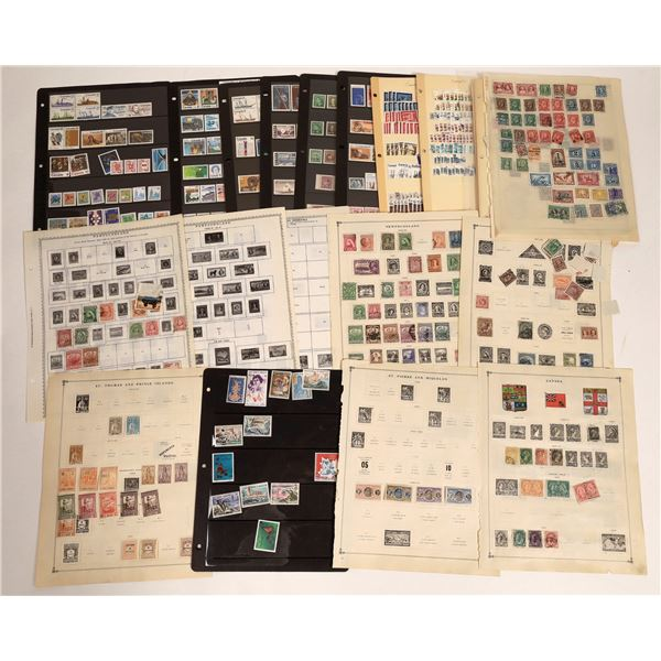 Canadian Stamp Collection  [132976]