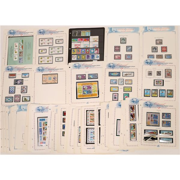 United Nations and United Universal Postal Union Stamp Collections  [131592]