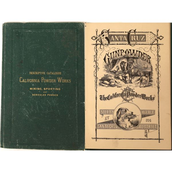 """Descriptive Catalogue California Powder Works"": Gunpowder, Extra Rare [130074]"