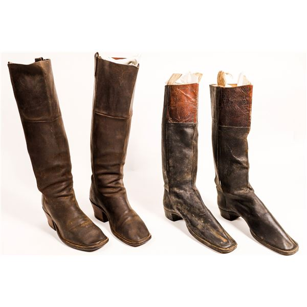 Civil War Stove Pipe Boots  [122822]