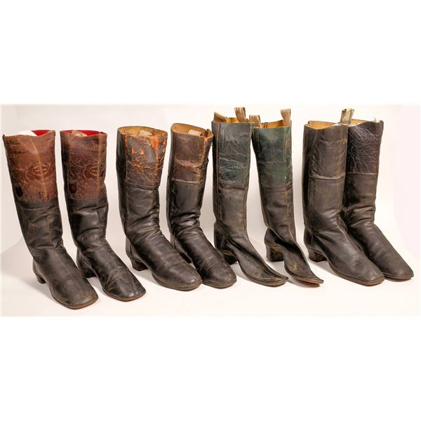 Stove Pipe Boot Collection, c1870s  [122821]