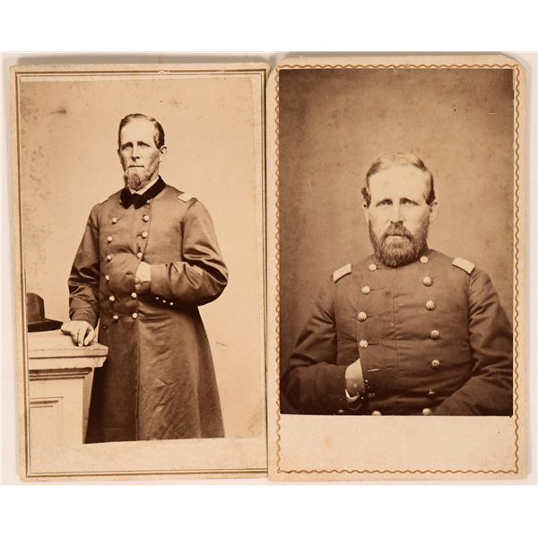 Two CDV's of Union Soldiers  [118310]