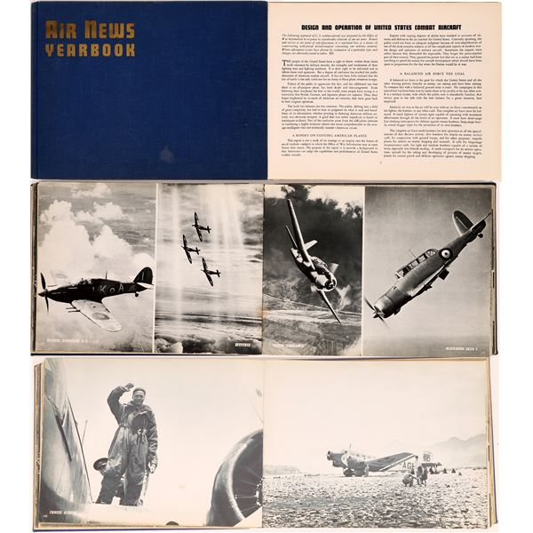 1942 Air News Yearbook (First Edition)  [131688]