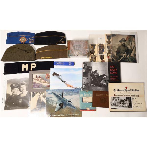 Army Career memorabilia   [132863]
