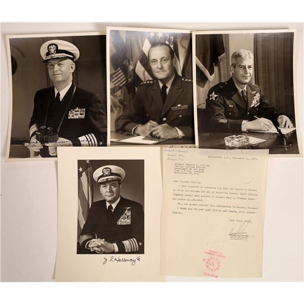 Military Autographed Photos   [132847]
