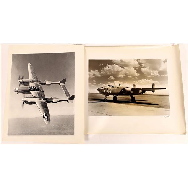 Real Photos of WWII U.S. Combat & Training Aircraft (4)  [131689]