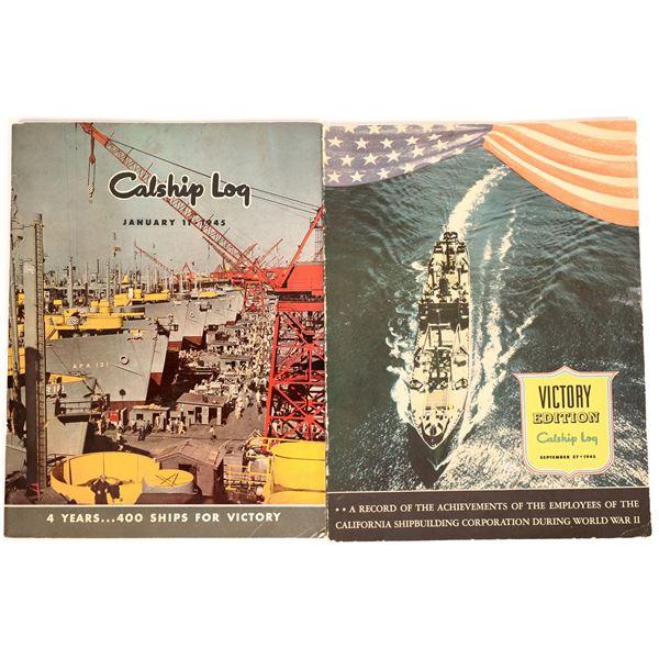 U.S. WWII Ship Building Publications (3)  [131682]
