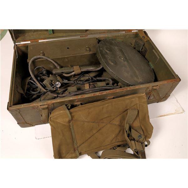 WWII Metal Detector  [131612]