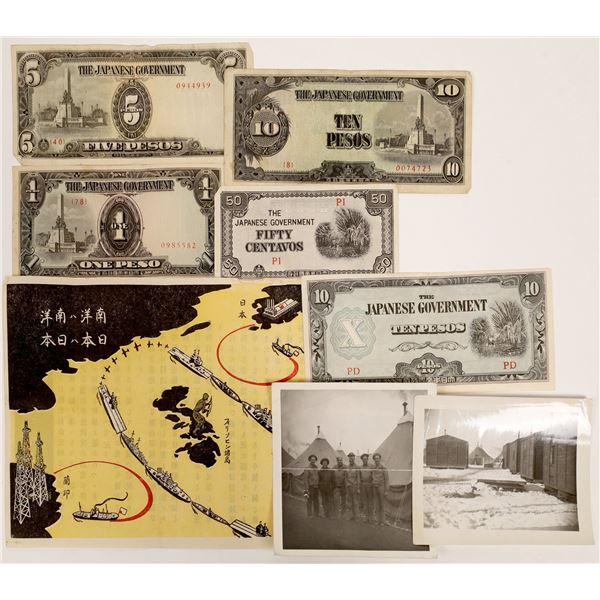 WWII Propaganda & Occupation Currency  [132080]