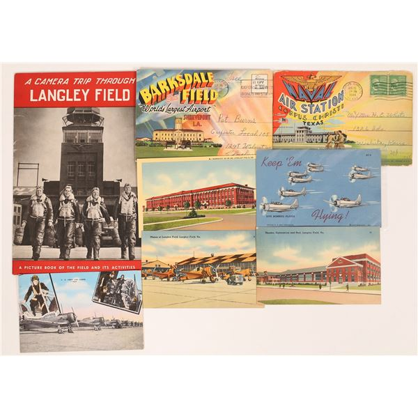 WWII Air Station Informational Booklets  [131677]