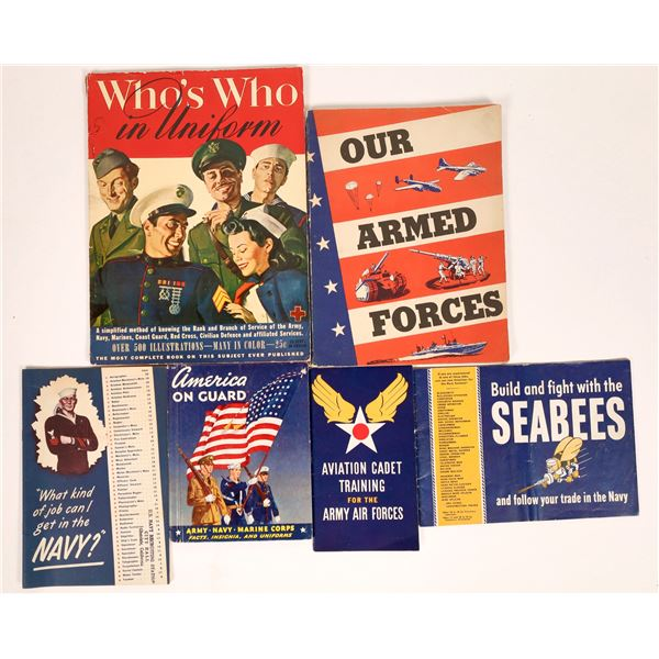 WWII Armed Forces Recruiting Publications  [131678]