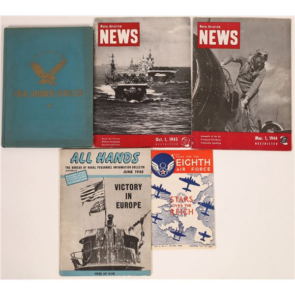 WWII Army/Navy Information Publications  [131673]