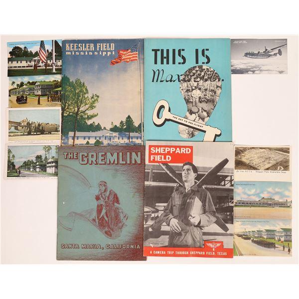 WWII Flight School Training Booklets  [131676]