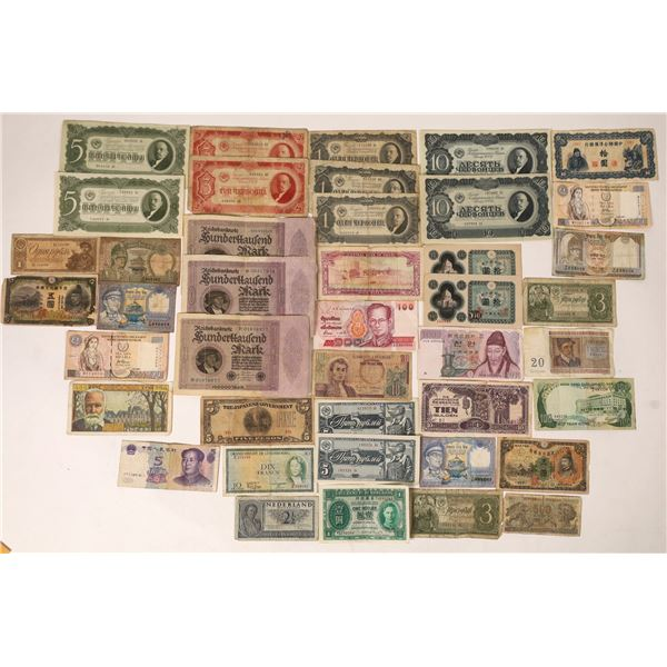 WWII Foreign Currency  [131701]