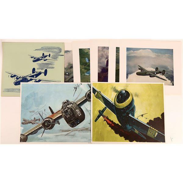 WWII U.S. Combat Planes (3 Sets)  [131692]