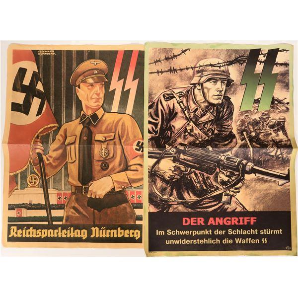 German WWII Propaganda Posters 1939-40 (2) - Repro  [135536]