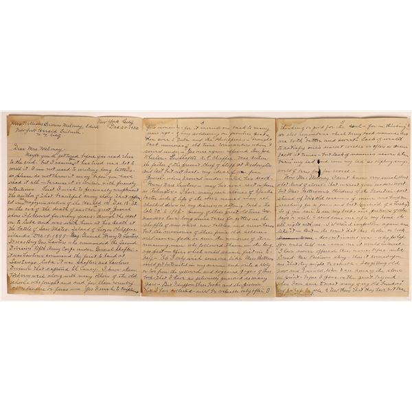 An Old Soldier's Letter to the Editor  [131621]