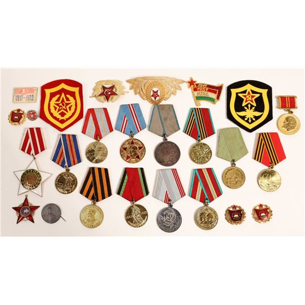 Soviet Union Era Medals, Badges, and Patches  [132508]