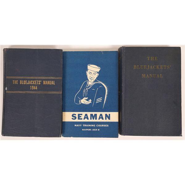 U.S. Naval Training Manuals (3)  [131691]