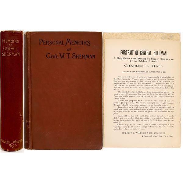 Personal Memoirs of General W. T. Sherman written by Himself  [132934]