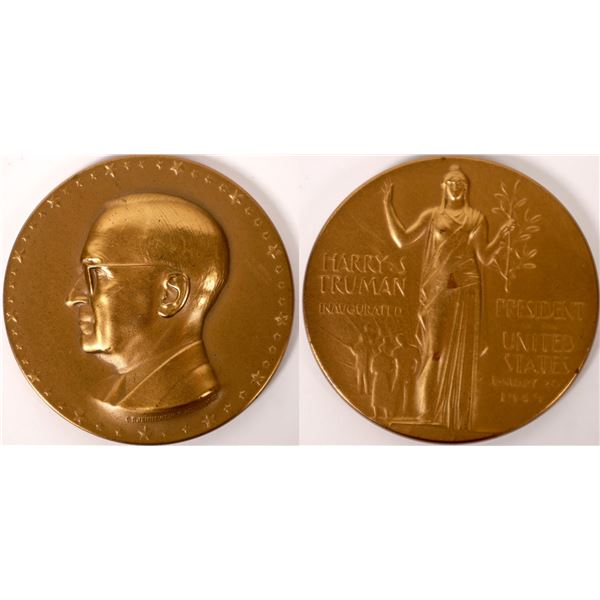 Bronze Medal of the Truman Inauguration  [129916]