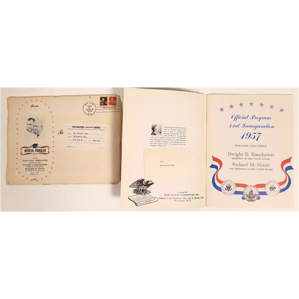 Autographed Official Program of Eisenhower Inauguration  [132073]