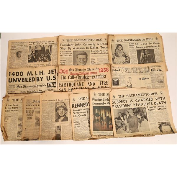 Kennedy Assassination Newspapers  [131970]
