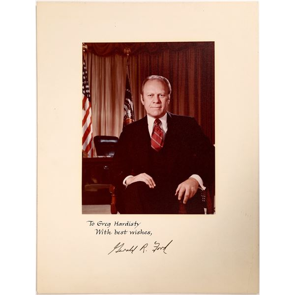 Autographed Photograph of President Ford  [132076]