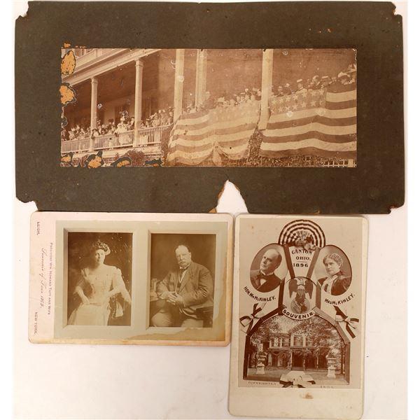 Mounted President Photos  [129915]