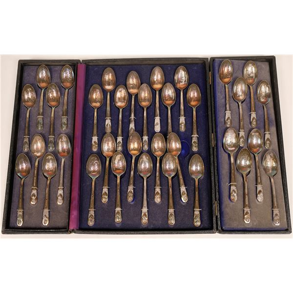 Presidents Commemorative Silver Spoon Collection  [132988]