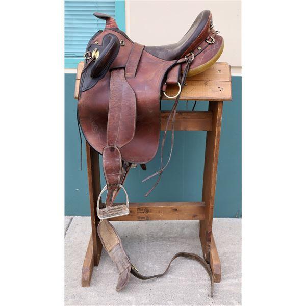 Syd Hill & Sons Western Saddle  [122824]