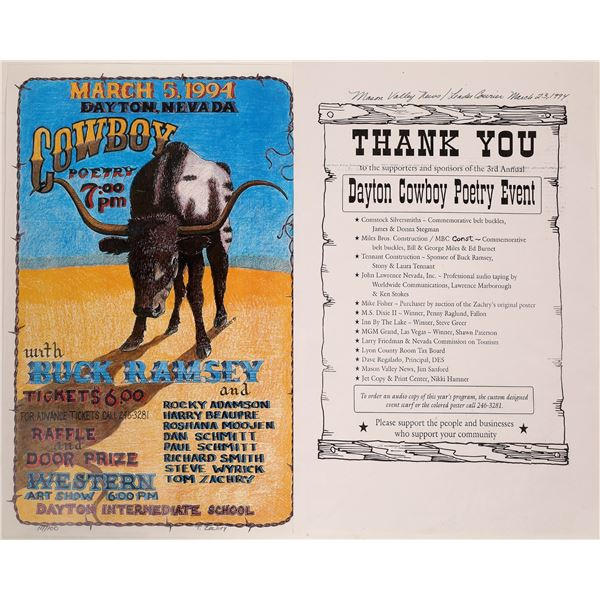 Cowboy Poetry Event Posters  [133754]