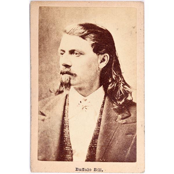 Buffalo Bill Original Carte De Visite (CDV)   [132255]