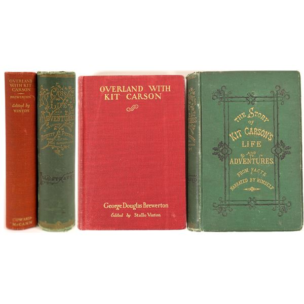 Two Kit Carson Books including the only legitimate biography  [130077]