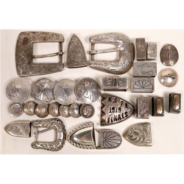 Belt Buckle Silver  [132864]