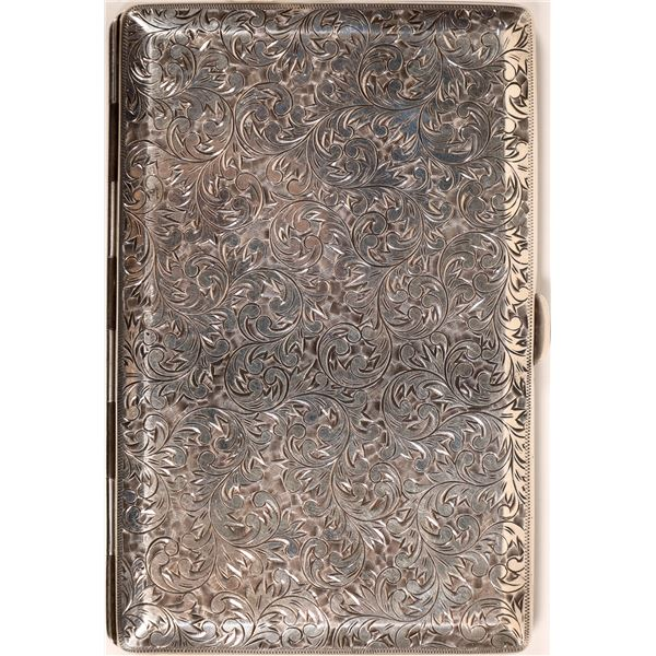 Card/Cigarette Case in Sterling Silver  [133739]
