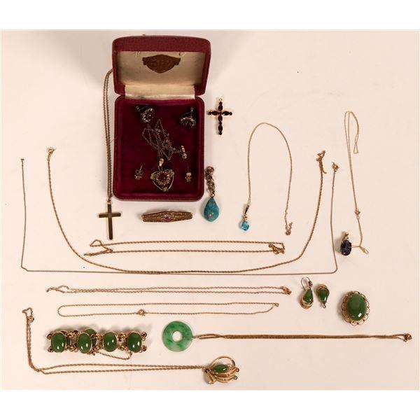 Gold Jewelry 10K  [121233]