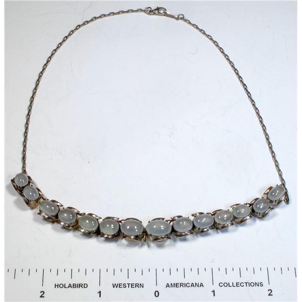 Vintage Moonstone Necklace  [124868]