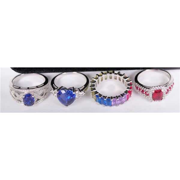 Women's Gemstone Rings from Kay Jewelers (Lot of 4)  [132245]