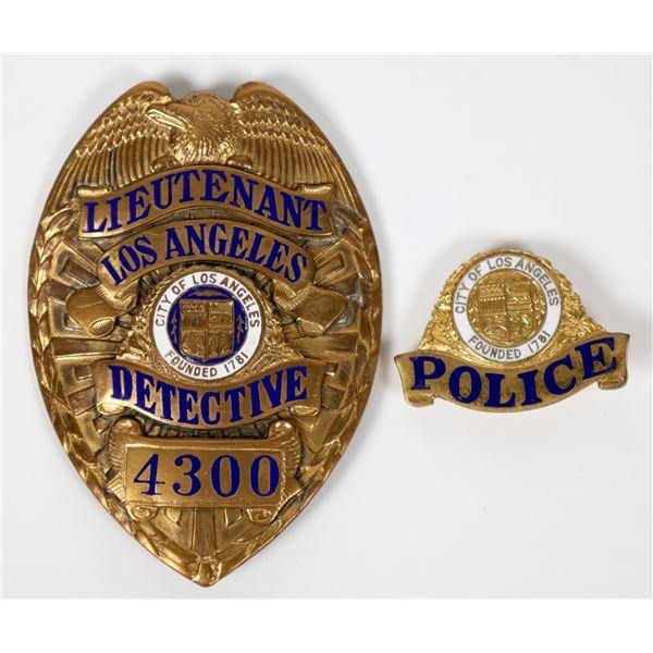 L.A.P.D. Detective Badge  [129935]